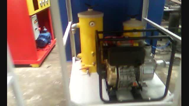 دستگاه تصفیه روغن - دستگاه تصفیه گازوییل - فیلتر صنعتی