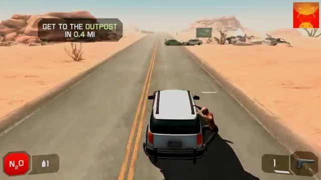 گیم پلی و تریلر بازی Zombie Highway 2