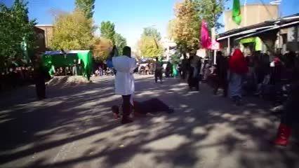 شبیه خوانی میدان شهرداری مهربان 94