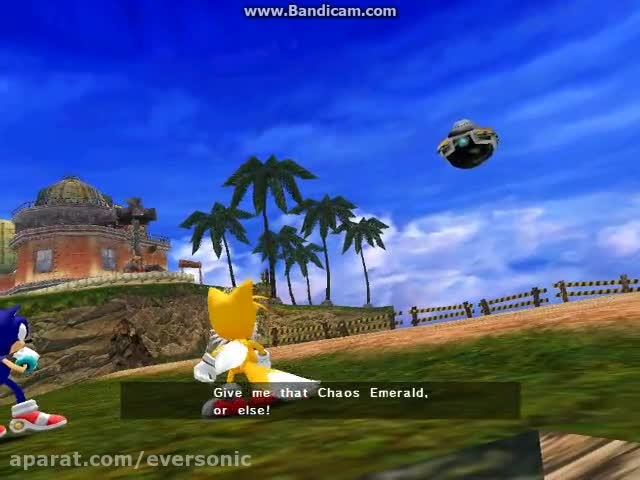 Sonic Adventure DX - Tails - Part 1
