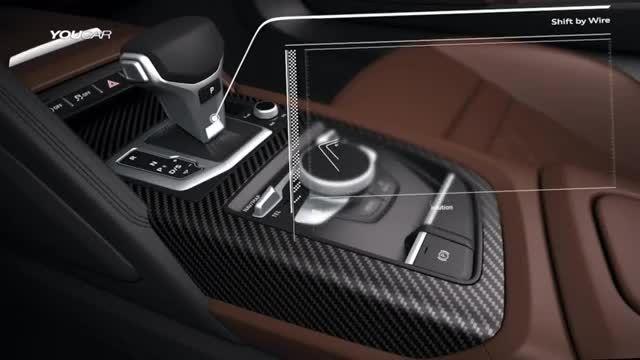 آئودی R8 - تست رانندگی توسط Tom Kristensen