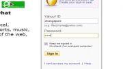 تغییر رمز ایمیل یاهو