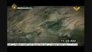 انیمیشن حمله حزب الله به اسرائیل