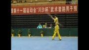 منتخب ووشو جهان ، چیان شو ، وی جی ین از شانخی ، مقام اول2009
