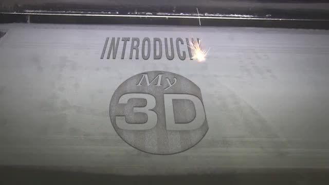 چوب گلف ساخته شده با پرینتر سه بعدی