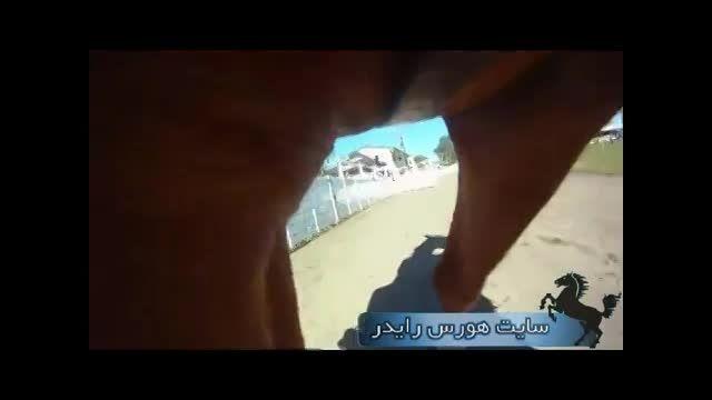 عجیب ترین جاگذاری دوربین در مسابقات پرش با اسب
