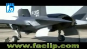 تیک آف و لندینگ فوق العاده زیبای جنگنده عمود پرواز F-35