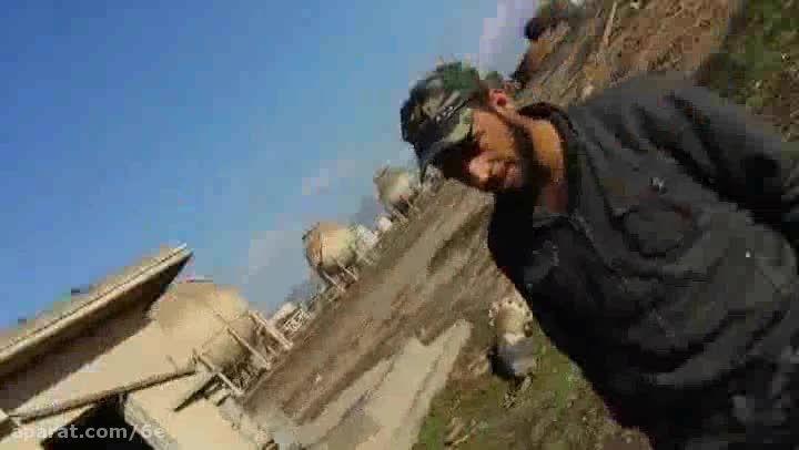 تفاله های بازمانده داعش داخل پالایشگاه بیجی