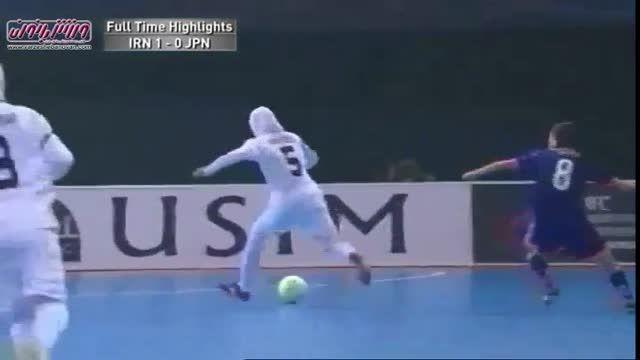 مسابقه فینال فوتسال بانوان  ایران و ژاپن قهرمانی آسیا