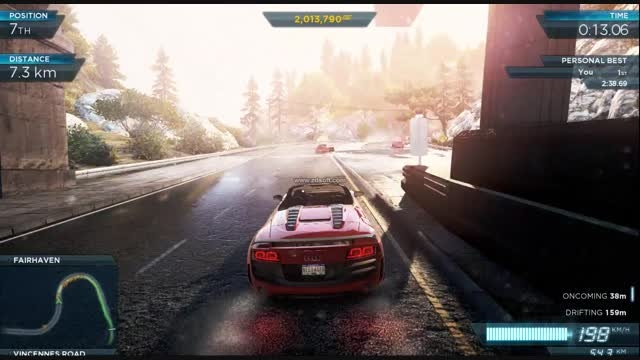 (need for speed most wanted 2 (PC version