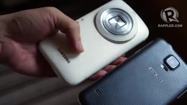 گوشی هوشمند گلکسی کا زوم از زیر ذره بین - زوم تک