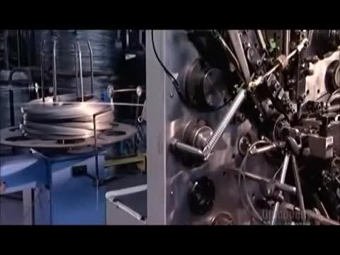 فنرها چگونه ساخته میشوند