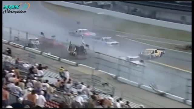 شدیدترین تصادفات در مسابقات اتومبیل رانی