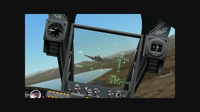 Warthog`s Attack To Iraqi Tanks , FC2