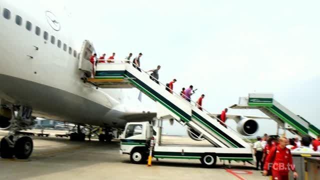 پرواز بایرن مونیخی ها به شهر گوانگژو چین