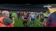 جشن قهرمانی بارسلونا/سوپرکاپ اسپانیا2013