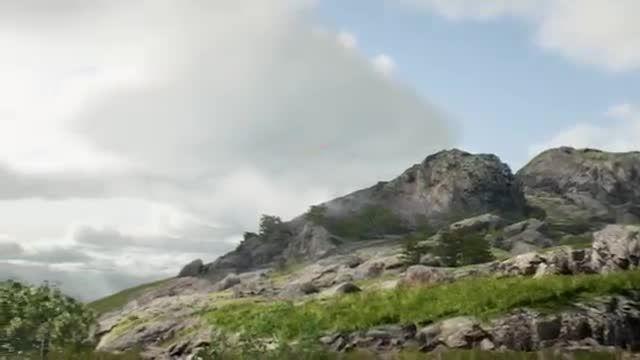 دموی فنی Unreal Engine 4 روی پردازنده گرافیکی Titan X