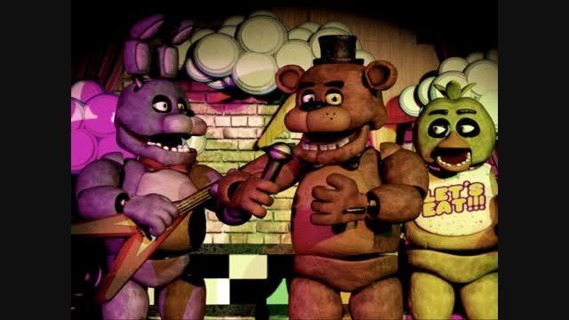 Freddy Fazbear's Theme - Five Nights at Freddy's(تقدیم