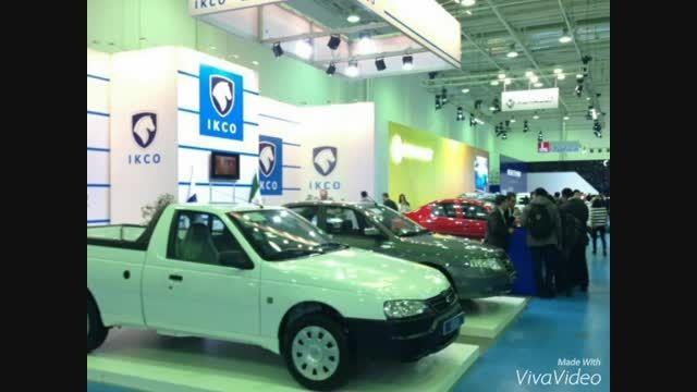 نمایش ایران خودرو در استانا قزاقستان