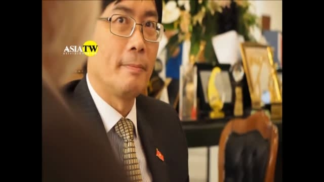 دیدار سفیر ویتنام با سردبیر آسیا همزمان با جشن  روز ملی