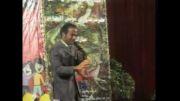 تقلید صدای بامزه ی برنامه ی حیاط وحش توسط حسن ریوندی