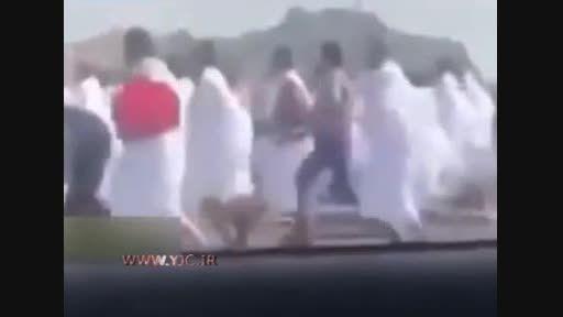 لحظه ربودن حجاج توسط شرطه های سعودی