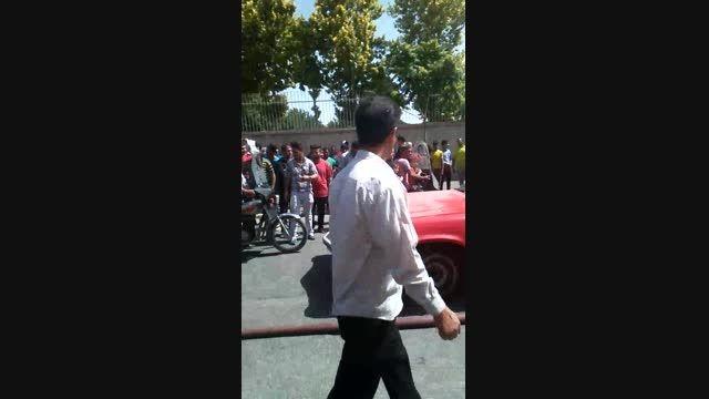 آتش سوزی در خیابان فداییان اسلام