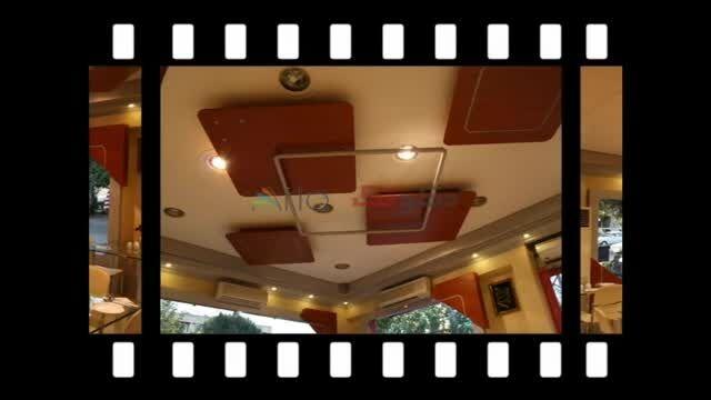 طراحی و تجهیز دکوراسیون فست فود و رستوران