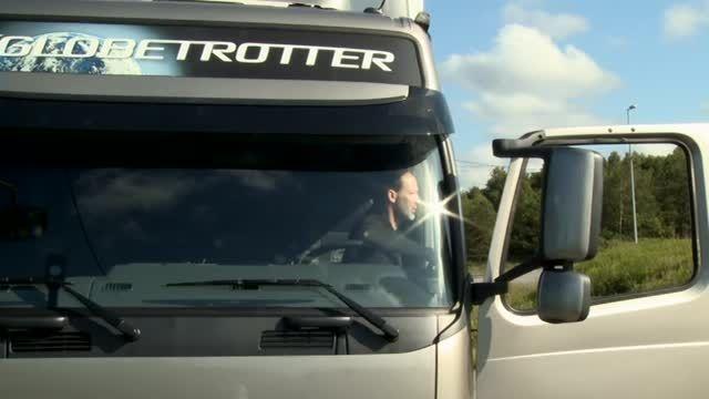 تست سیستم ESP در کامیون های VOLVO
