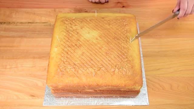 ♥ پخت کیک عروسک سیندرلا با بیسکوییت