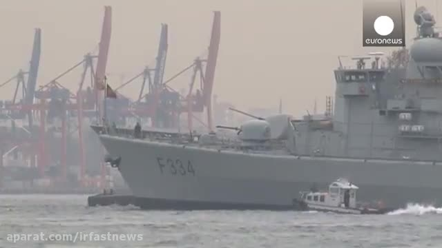 سه کشتی جنگی ناتو با هدف تضمین امنیت ترکیه در استانبول