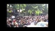 مراسم تشییع پیکر محمدرضا لطفی در زادگاهش گرگان