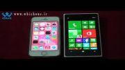 مقایسه تخصصی گوشی های آیفون 5 اس و لومیا 1020