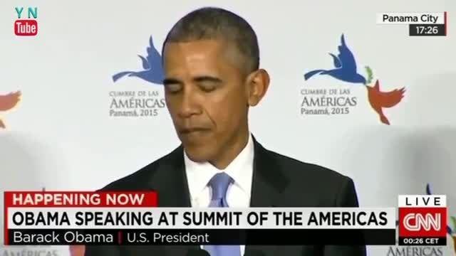 سخنرانی اوباما در مجمع کشورهای آمریکای لاتین