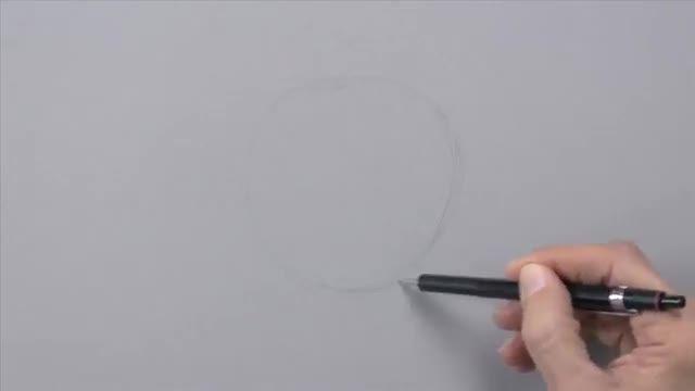 آموزش نقاشی سه بعدی+توضیحات...فیلم ششم