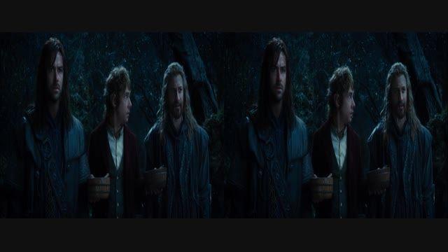 قسمت کوتاه فیلم سه بعدی The Hobbit 3D HD 2012