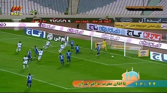 گل عقیل کعبی؛ استقلال تهران ( 0 ) - استقلال خوزستان (1)