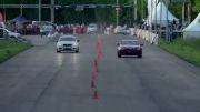 درگ BMW M5 F10 vs BMW M6 F12 vs Aston Martin Vanquish