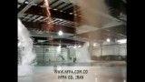 5- سیستم اطفاء حریق فوم به صورت اتوماتیک در انبار (تخلیه فوم از دیواره های انبار)