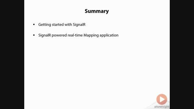 SignalR_3.Powered Backend_5.Summary