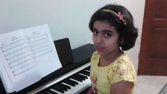 جینگل بلز نوازندگی پیانو توسط مژده آقادادشی
