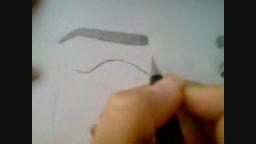 سیاه قلم چهره