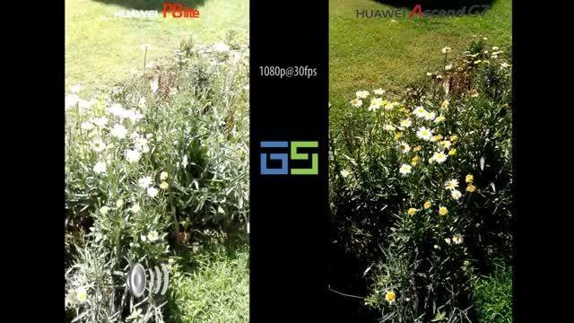 مقایسه کیفیت فیلمبرداری Ascend G7 و P8 lite