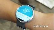 ویدیو بررسی اولیه ساعت هوشمند moto 360