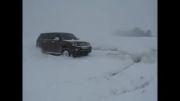 لندمارک در برف