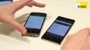 مقایسه اسپیکر خروجی صدای اکسپریا Z2 و HTC One M8