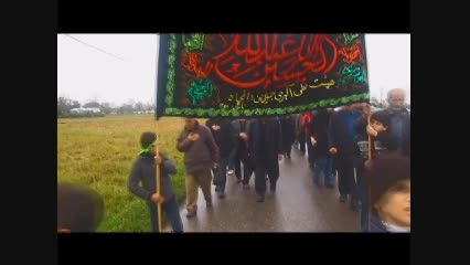 دسته هیئت علی اکبری روستای دافچاه - ظهر عاشورای 93