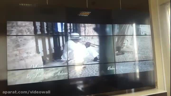 ویدئو وال اتاق مانیتورینگ