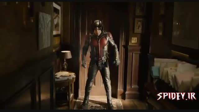 كلیپ خنده دار از فیلم مرد مورچه ای Ant-Man