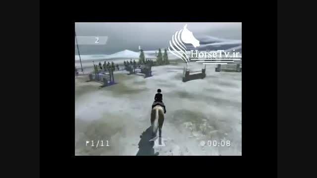اسب سواری کامپیوتری - دمو بازی سوارکاری